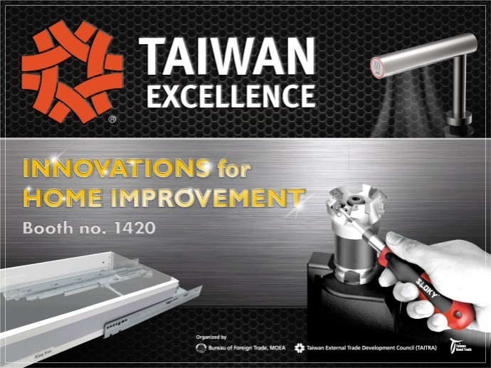 Innovations for Home Improvement: Taiwanese hardware brands introduce great at 2019 National Hardware Show in Las Vegas