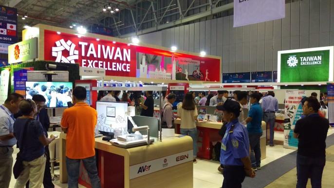 Taiwan Excellence Pavilion @ ICT Comm Vietnam 2018
