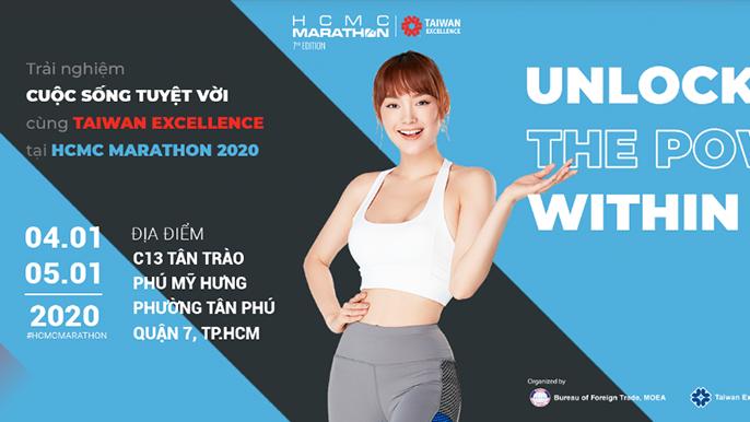 Giải Marathon Thành phố Hồ Chí Minh 2020 tài trợ chính bởi Taiwan Excellence- Giải Marathon Tp.