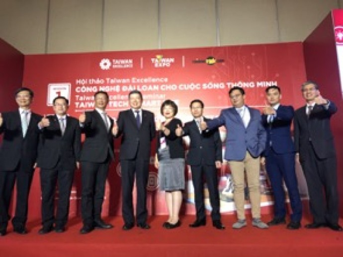 TAIWAN EXCELLENCE TRỞ LẠI TAIWAN EXPO VỚI NHỮNG SẢN PHẨM  NÂNG CAO CHẤT LƯỢNG CUỘC SỐNG NGƯỜI VIỆT
